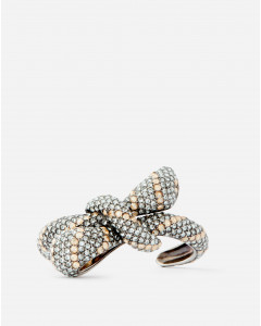 BOWS BRACELET WITH STRASS