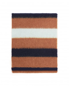STRIPED SCARF IN CASHMERE BLEND