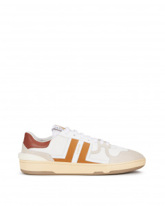 LEATHER CLAY LOW-TOP trainers