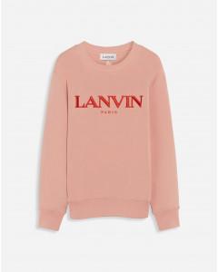 LANVIN EMBROIDERED SWEATSHIRT