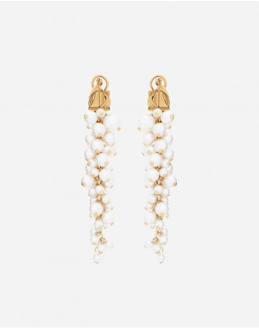 MOTHER AND CHILD PEARL EARRINGS