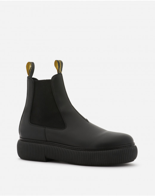 CALFSKIN LEATHER ARPEGE ANKLE BOOTS