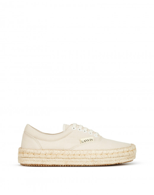 ESPADRILLE SNEAKERS IN CANVAS COTTON