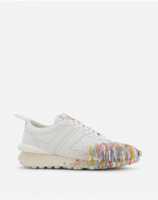 PAINTED NAPPA LEATHER BUMPR SNEAKERS