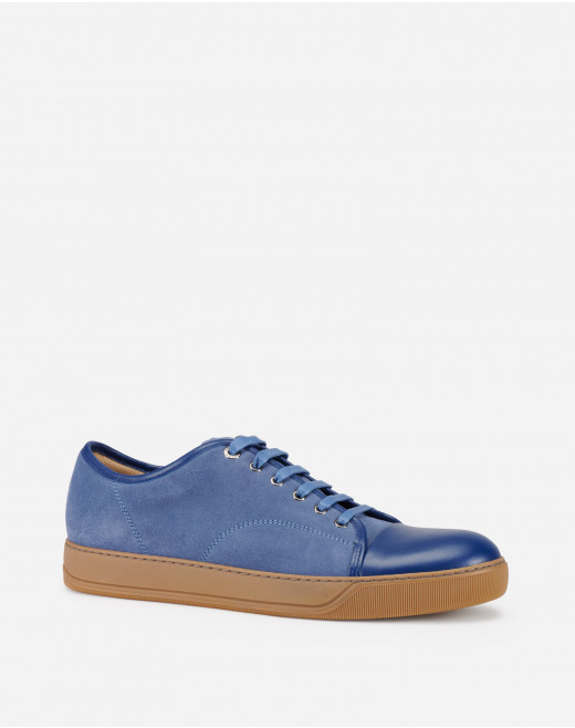 DBB1 SUEDE AND LEATHER SNEAKERS