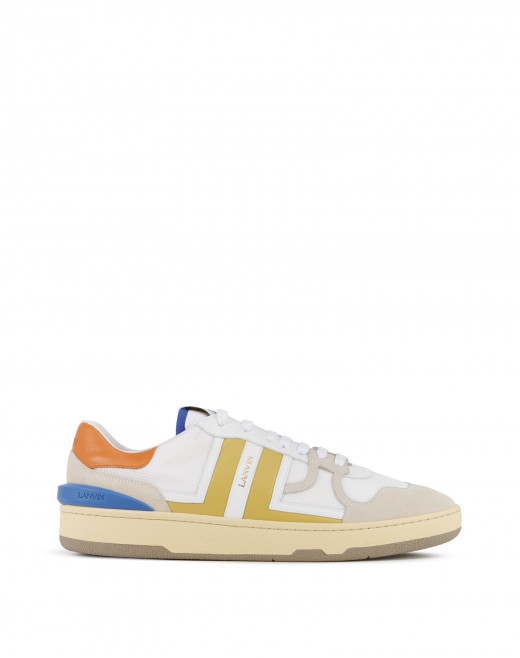 MESH CLAY LOW-TOP TRAINERS