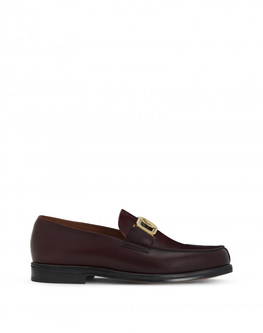 SWAN LOAFERS IN BRUSHED LEATHER