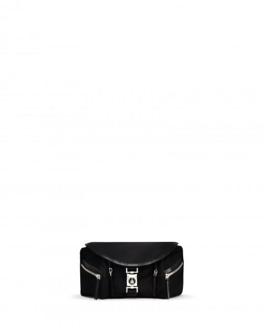 BLACK VENICE BELT BAG