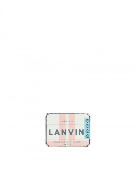 LANVIN-PRINT CARD HOLDER