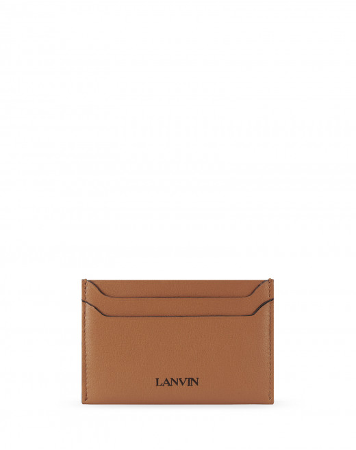 CARD HOLDER IN CALFSKIN LEATHER
