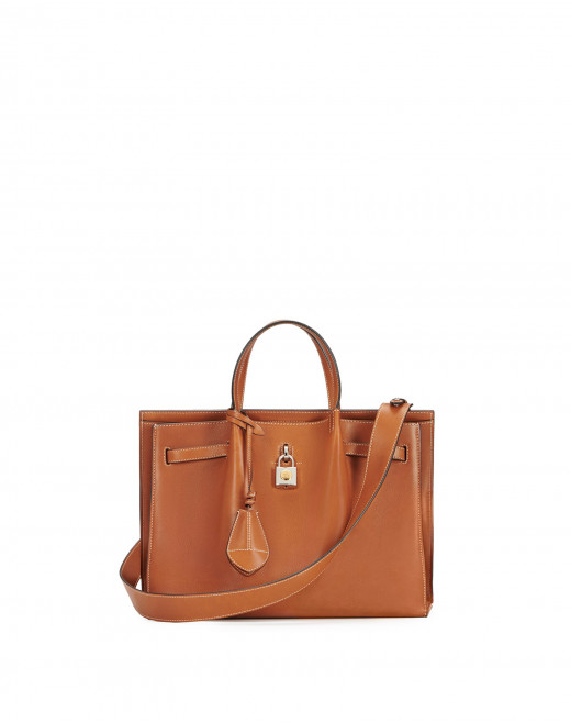 SMOOTH LEATHER BOGEY BAG MM