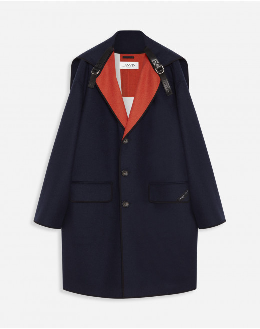 ROSENQUIST COAT WITH ROLLED HOOD