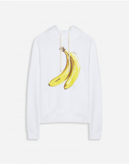 HOODIE WITH BANANA SCENTED PRINT