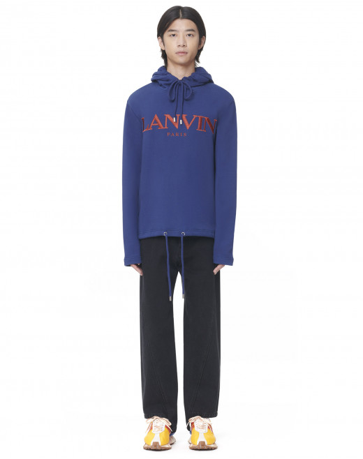 LANVIN EMBROIDERED HOODIE
