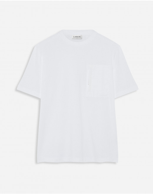 T-SHIRT WITH ZIP POCKET