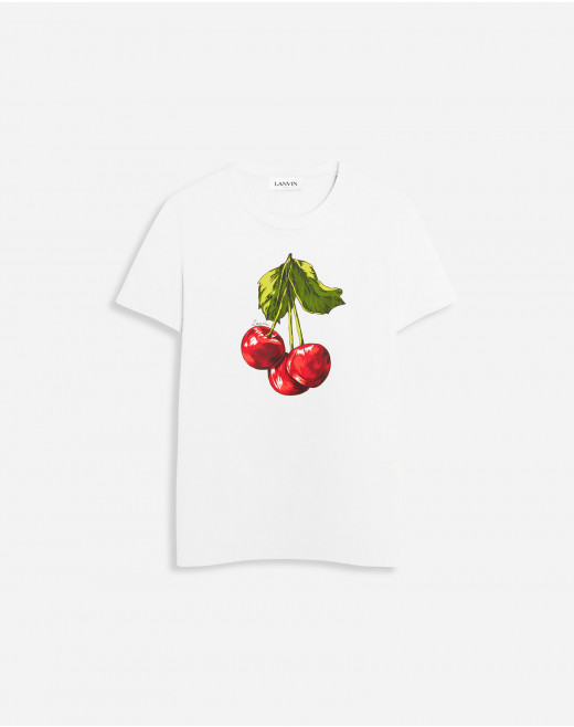 T-SHIRT WITH CHERRY SCENTED PRINT