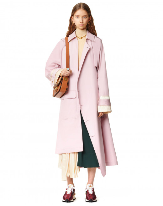 ASYMMETRIC TRENCHCOAT
