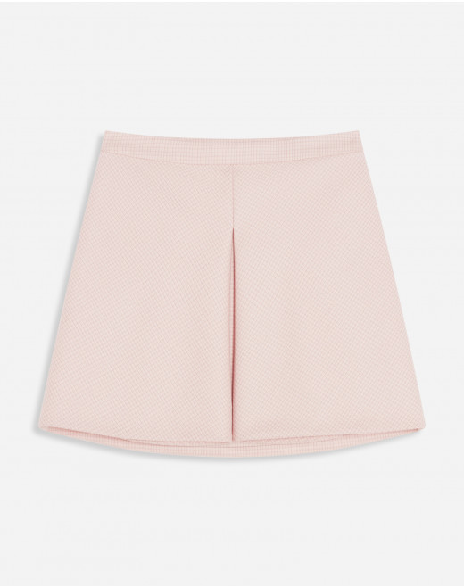 MINI SKIRT WITH FRONT SLIT