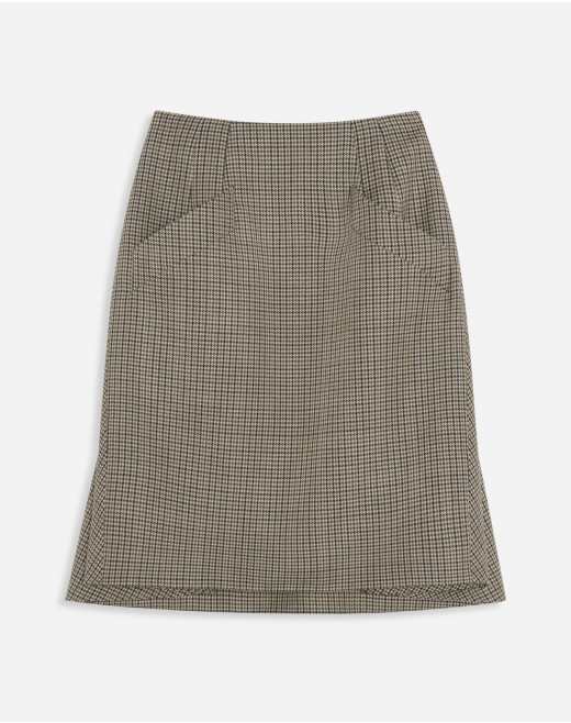 PENCIL SKIRT WITH CAPE