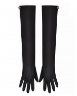 LONG OPERA GLOVES IN NAPPA LEATHER