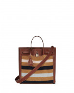 STRIPED NORTH SOUTH BOGEY BAG