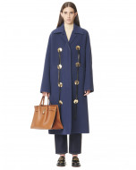 DOUBLE FACE WOOL LONG COAT