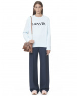 SWEATSHIRT MIT LANVIN-STICKEREI