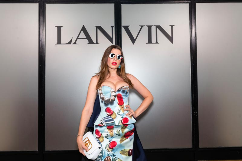Julia Fox Lanvin