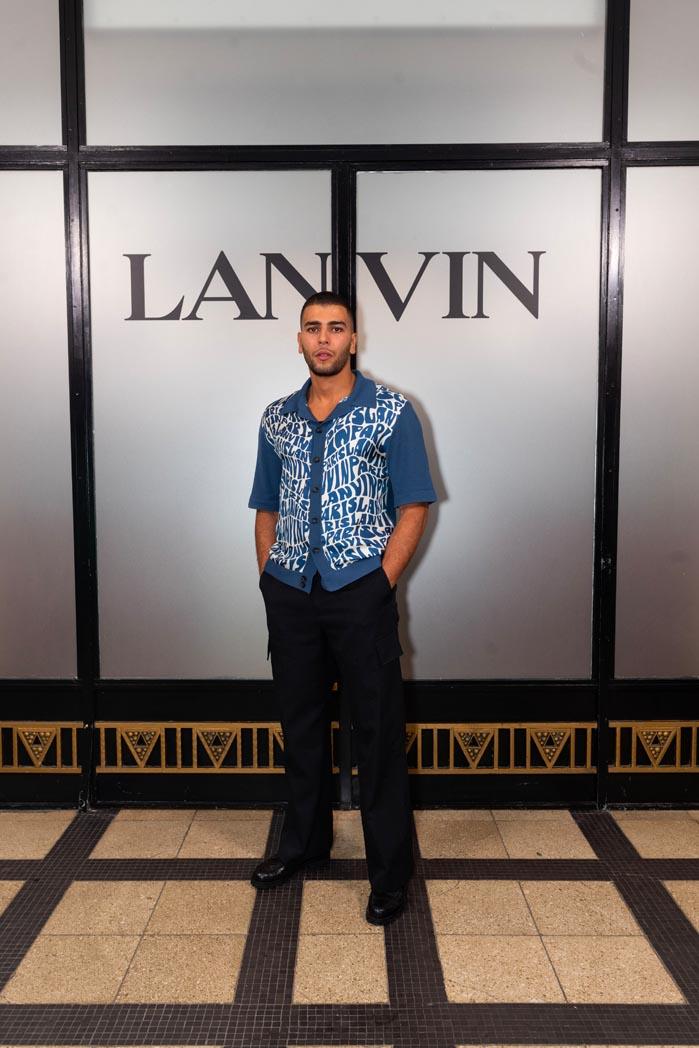 Younes Bendjima Lanvin
