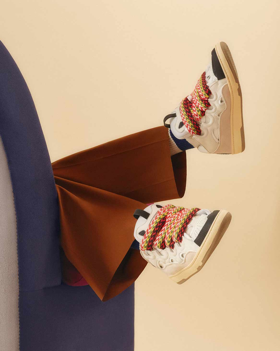 Sneakers Curb Bianca