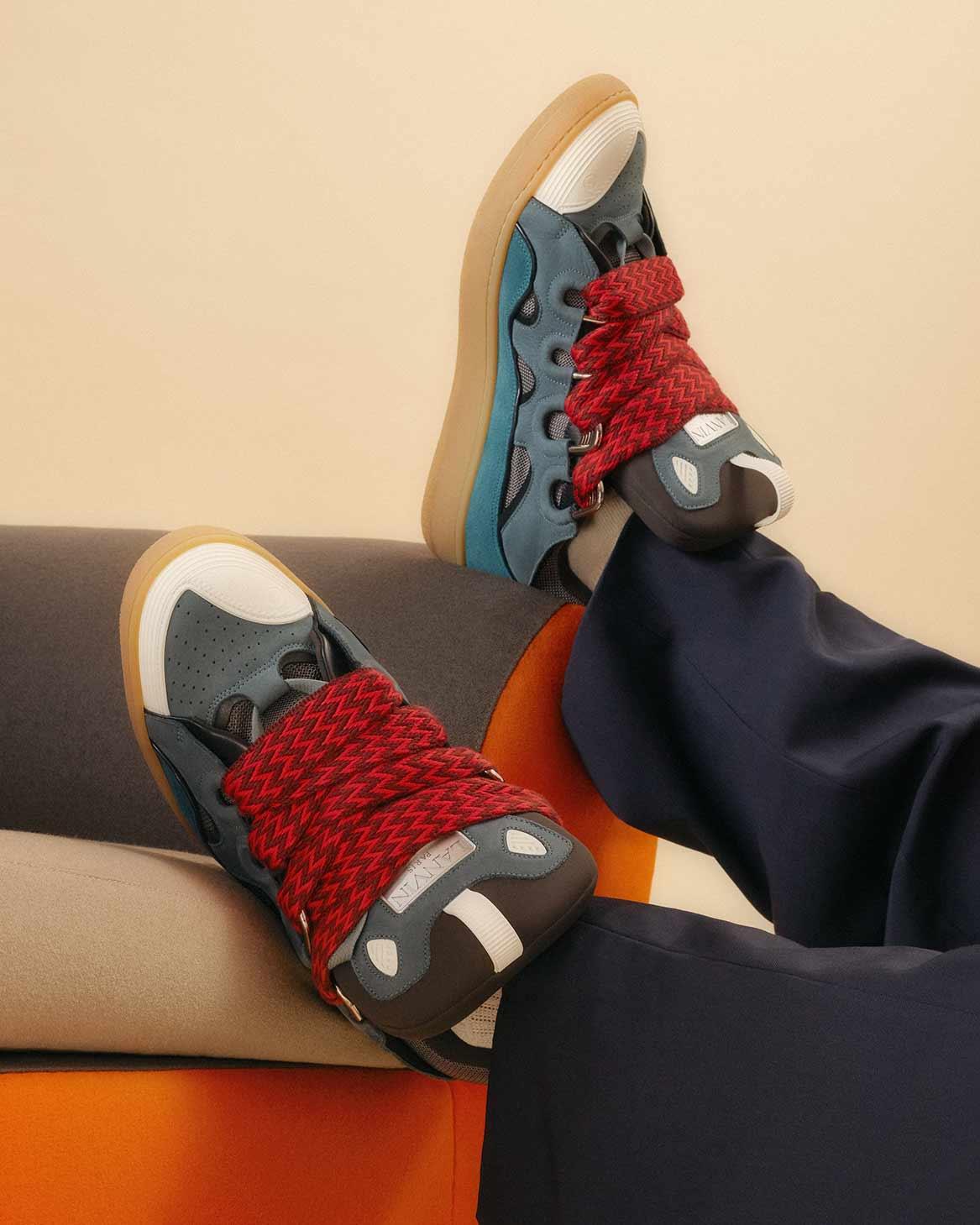 Sneakers Curb Grau