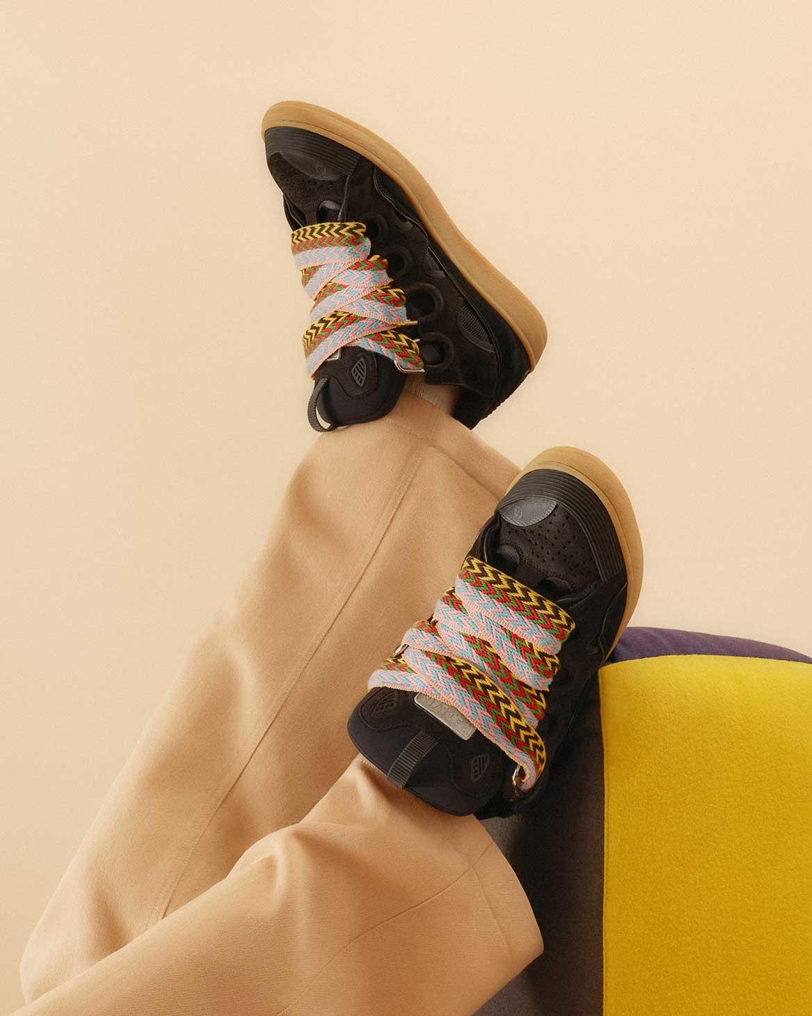 Sneakers Curb Schwarz