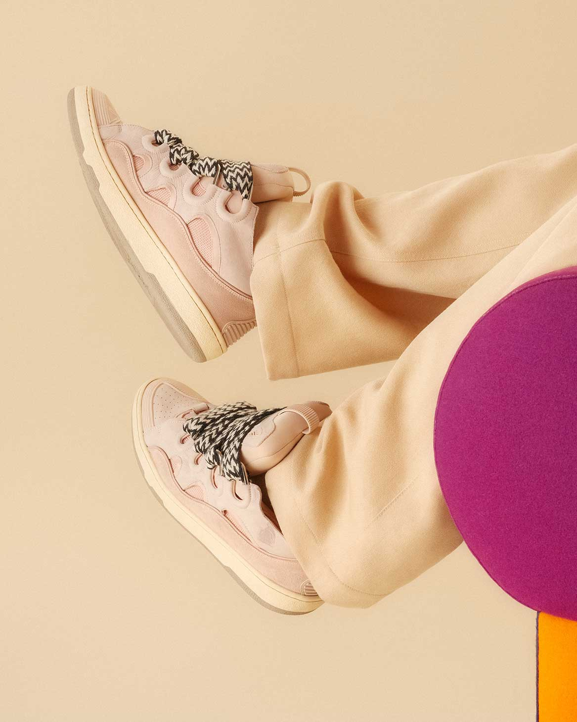 Sneakers Curb rose