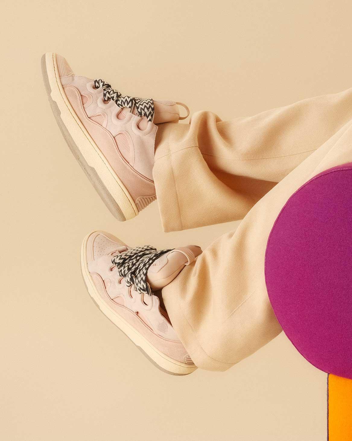 Sneakers Curb Rosa