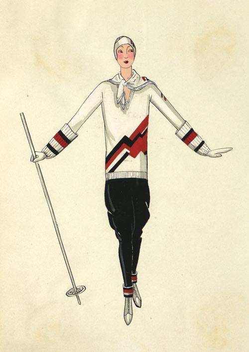 skizze Jeanne Lanvin